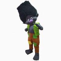 NEW Poppy Branch From Dream Works Trolls Mascot Movie Costume Mascot Fancy Dress BRAND