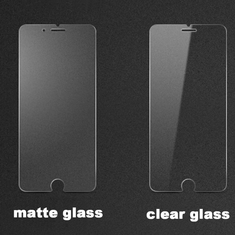 50pcs lot Frosted Matte Tempered Glass Film For iPhone X 5S 6 6s 7 8 Plus