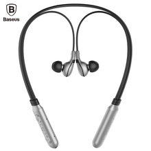 Baseus E16 Neckband Bluetooth font b Earphone b font with Mic V 4 1 Wireless Headphone