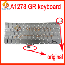 NEW perfect for macbook pro 13inch A1278 GR Germany German keyboard without backlight backlit 2009-2012