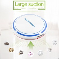 2018 Rechargeable Smart Sweeping Robot Slim Sweep Suction Drag One Machine Small Mini Vacuum Cleaner Sweeping