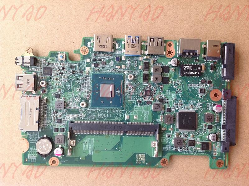 NBMNU11001 Com N2830 E3-111 DA0ZHJMB6E0 Para ACER Laptop Motherboard CPU MainBoard 100% Testado Navio Rápido