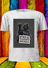 Darth Vader Free Throat Hugs Star Wa T-shirt Vest  Top Men Women Unisex 2305 New T Shirts Funny Tops Tee free shipping