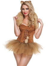 Sexy Costume Animal Costume Queen Of The Jungle Costume Women's Halloween Uniforms O31213