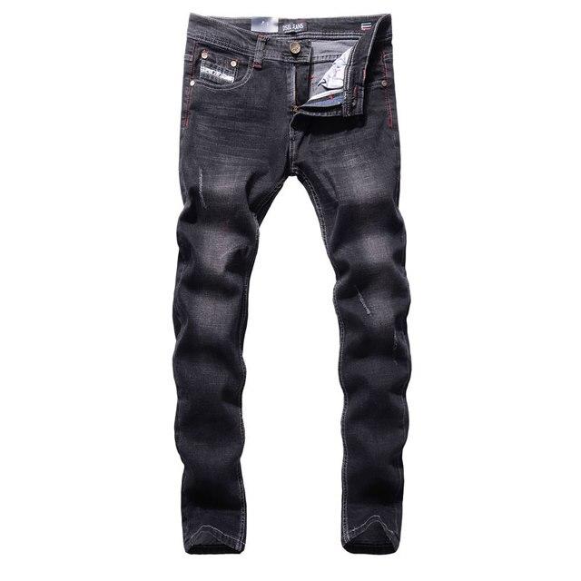 Original New Hot Sale Fashion Men Jeans Dsel Brand Straight Fit Ripped Jeans  Italian Designer Distressed 1890fcb99c97