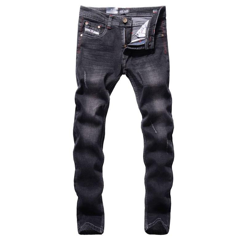 Original New Hot Sale Fashion Men   Jeans   Dsel Brand Straight Fit Ripped   Jeans   Italian Designer Distressed Denim   Jeans   Homme!707-C