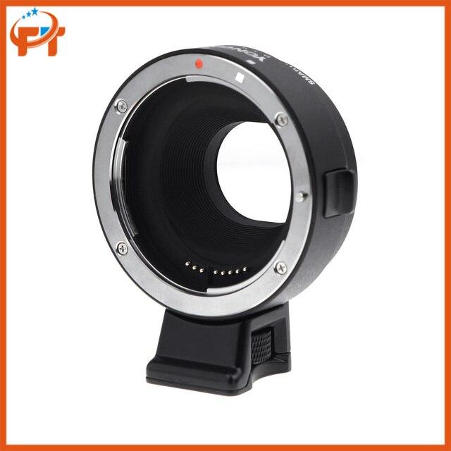 Yongnuo inteligente adaptador ef-e de montagem para canon ef ef-s lens para sony nex camera