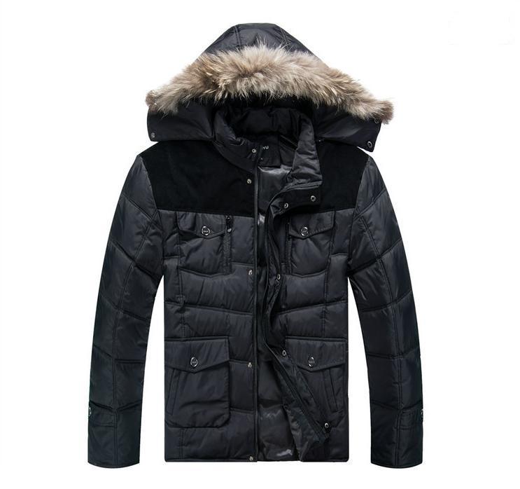 Grande taille xl-6xl 7xl 8xl (buste 160 cm) 2016 hommes xl big yards colliers doudoune épaississement manteau récréatif