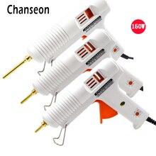 Chanseon Вт 150 Вт EU/US термоклеевой пистолет Smart Регулируемый температура медь сопла нагреватель Отопление 1 шт. мм 11 мм клеевой пистолет клей Stick