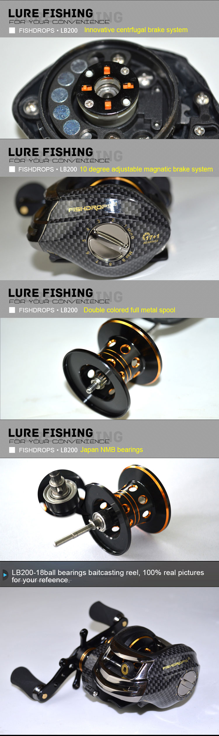 Week's Wheel Baitcasting Reel 5