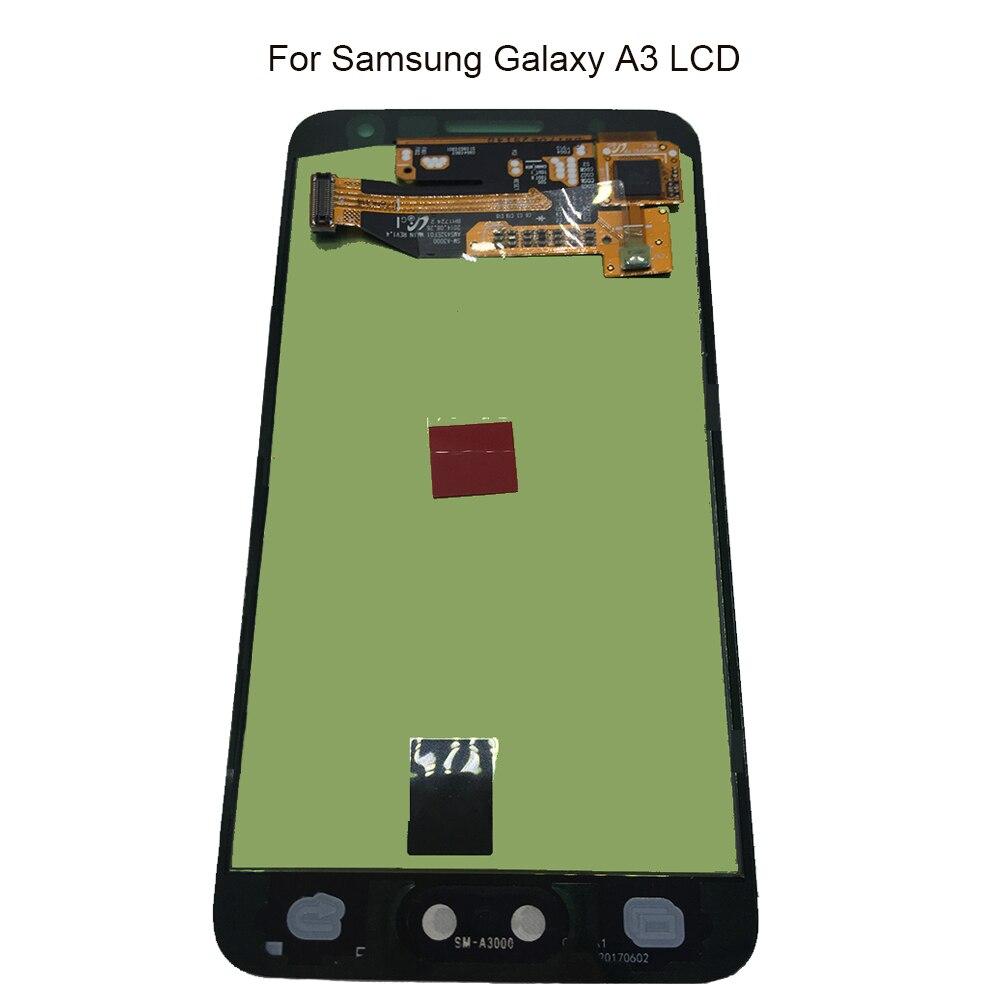 Pour Samsung Galaxy A3 2015 A300 A3000 A300F A300M écran LCD 2015 écran tactile numériseur assemblée pour Samsung A3 écran LCD