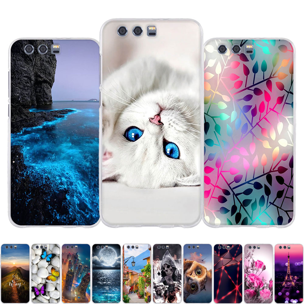 For <font><b>Huawei</b></font> <font><b>Honor</b></font> <font><b>9</b></font> Case Soft Silicone <font><b>TPU</b></font> Back Cover For <font><b>Huawei</b></font> <font><b>Honor</b></font> <font><b>9</b></font> Phone Cases 3D Cute Cat Shell For <font><b>Honor</b></font> <font><b>9</b></font> <font><b>Lite</b></font> Case Bags image