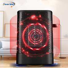700W Mini Protable Electric Heater Fan Bathroom Warm Heater PTC Heating Electric Space Heater Hot and Cold Mode for Home Office цена и фото