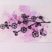JC Metal Cutting Dies for Scrapbooking Craft Cherry Blossoms 2019 Flower Die Stencil Handmade Paper Card Making Decoration