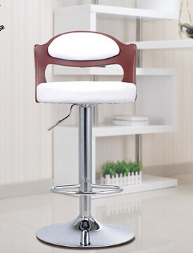 Stylish bar stool bar chairs bar stool European solid wood chair minimalist