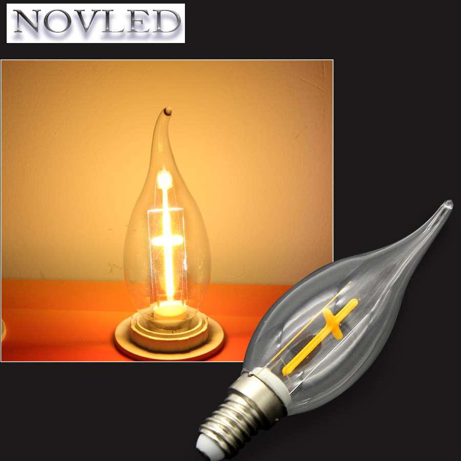 AC90-280V E14 LED 2W Cross Candle Light Filament Vintage Light Warm White Chandelier Constant Bulb Christian LED Bulbs Lamp ...