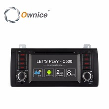 Ownice for BMW E39 X5 M5 E3 Android car dvd gps navigation system entertainment Multimedia Player wifi 4G Radio RDS DAB+ TPMS PC