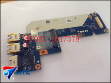 Оптовая для dell inspiron 5520 7520 usb ethernet lan разъем pcb платы ls-8242p 100% работы