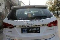 Stainless Steel Rear Window Frame Trim For 2013 Up Hyundai Santa fe IX45