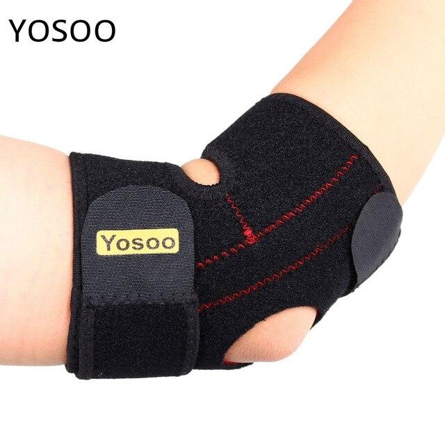 0a03f80b95 Yosoo Adjustable Elbow Support Tennis Golfers Elbow Splint Bandage Pad  Sleeve Sports Arm Protector Elbow Braces
