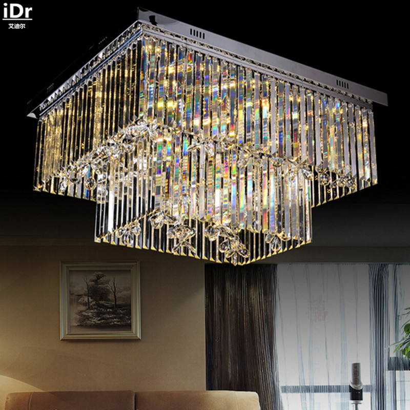 Personalized minimalist modern led crystal ceiling living room lamp creative bedroom Luxury lamp Ceiling Lights free delivery 912 v809 2272