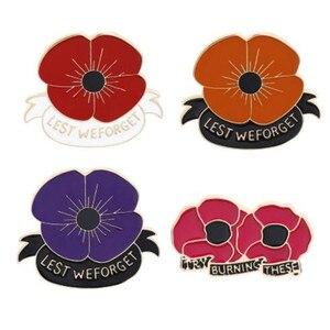 Военный Ветеран WKOUD, ветеран Красного мака, нагрудный штырь, королевское английское легион, Poppy, бейджи, брошь, украшения