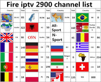 Smart tv box T95Z Бесплатная подписки iptv Italia Испании, Германии, Швеции Бельгии Турецкий Арабский 30 странах tv box для android