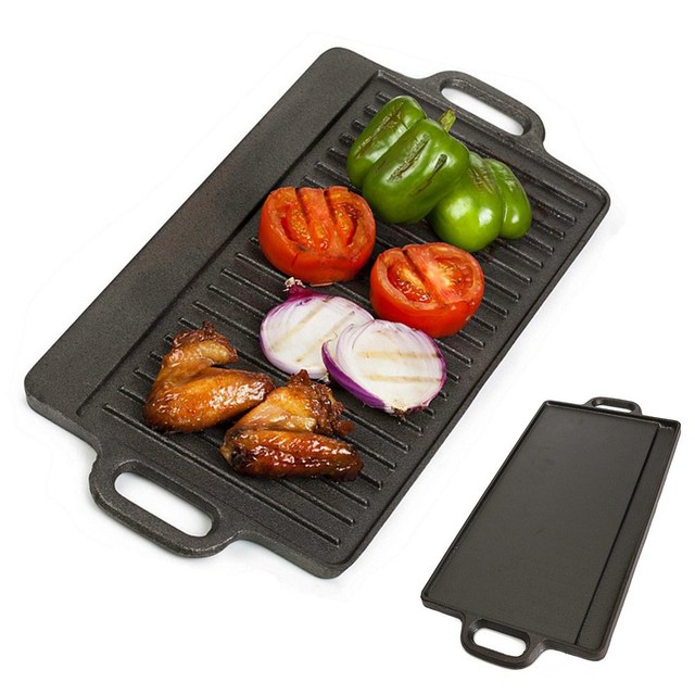 New Smokeless Barbeque Grill For Household Gas Stove Indoor Black ...