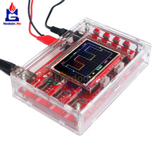 New Clear Acrylic Case Box Shell For DSO 138 DSO138 2.4 TFT Digital Oscilloscope Kit DIY Case Making Electronic Diagnostic Tool