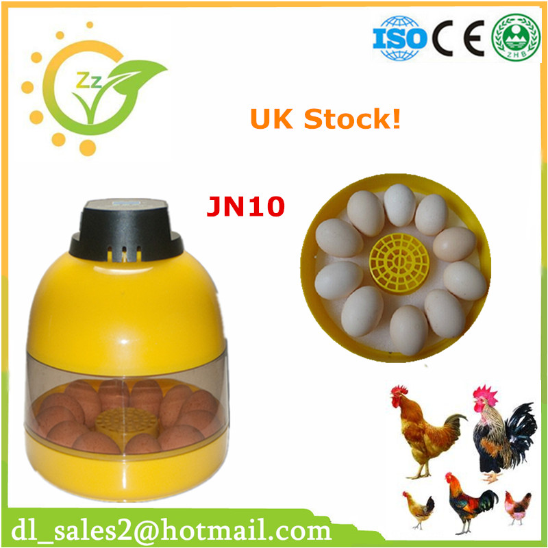 10-Egg Mini Incubator Poultry Chicken Goose Quail Duck Egg Incubator Chicken Hatchable Eggs automatic chicken incubator poultry harcher quail egg incubator 48 eggs egg incubator brooder machine zz48