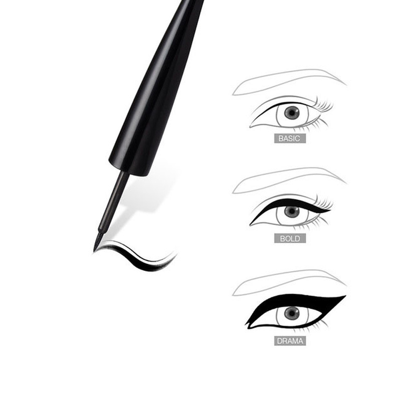 Best Selling 2019 Products Beginner Hard Eyeliner Matte Eye Liner Waterproof Not Blooming Maquiagem Profissional Completa Liquid