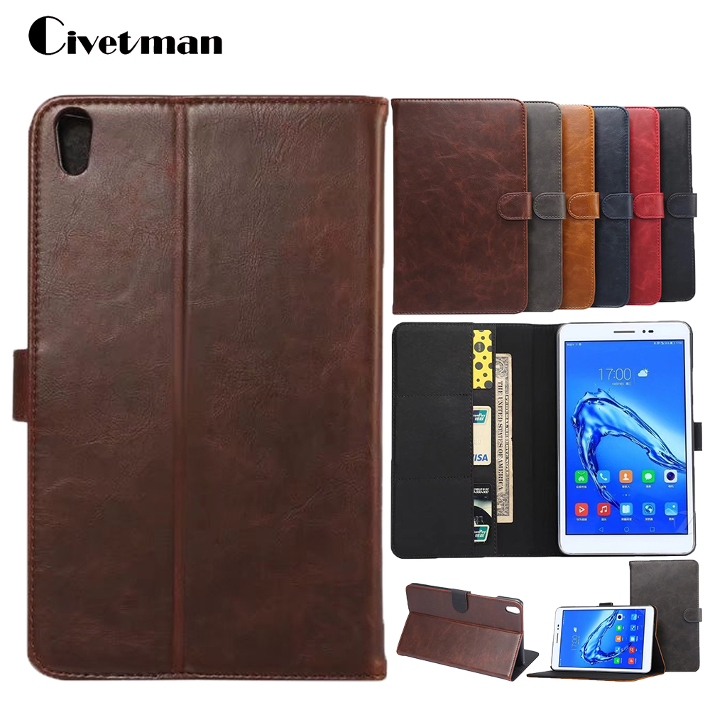 New Cases For Huawei Honor Pad2 Tabs/T2 Pro 8.0 Magnet Stand PU Leather Case Cover For Honor Tablet 2 JDN-W09 AL00 8.0 Inch velcro business card lanyard pu leather for huawei honor 8 pro