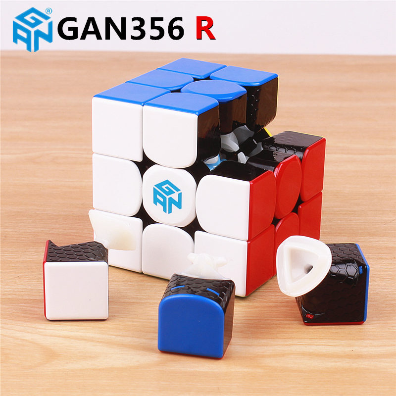 Image 4 - GAN356 R 3x3x3 magic speed cube stickerless professional gan 356R puzzle cubes educational toys for children gan 356 R-in Magic Cubes from Toys & Hobbies