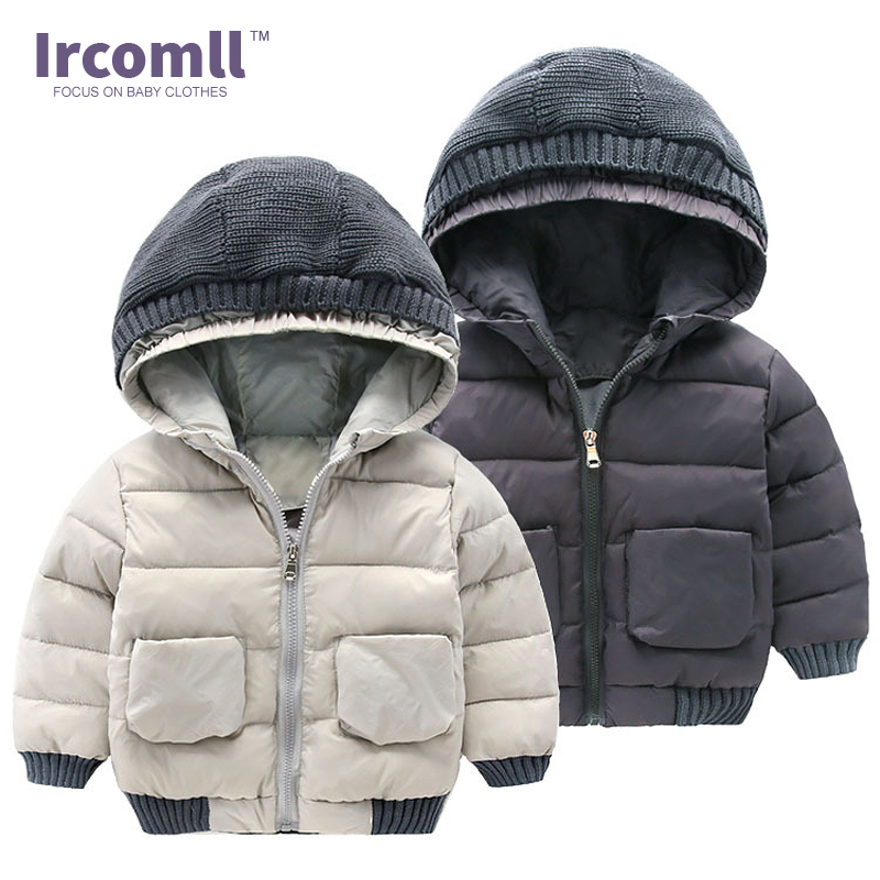 Ircomll 2018 New Winter Keep Thick Jackets For Boys Children Winter Cotton Coat Kids Outerwear Jacket Fashion boys clothes стоимость