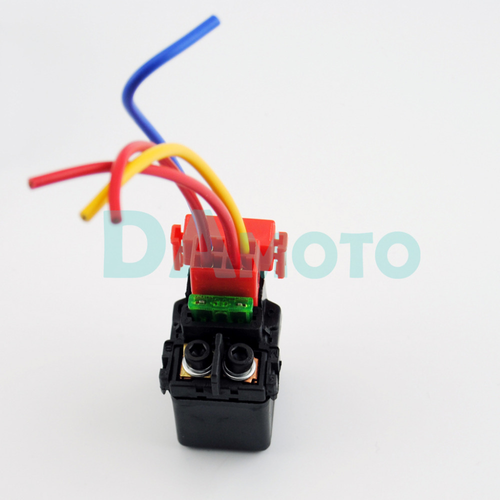Motorcycle Starter Solenoid Wiring Diagram