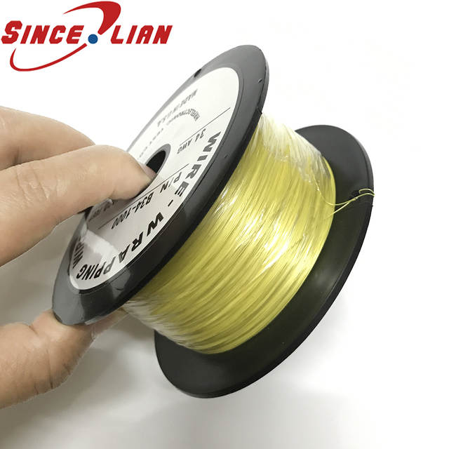 UL1423 34AWG US Imports Silver Plated Wire 305 Meters OK Line OD 0 27MM High Temperature 640x640q70