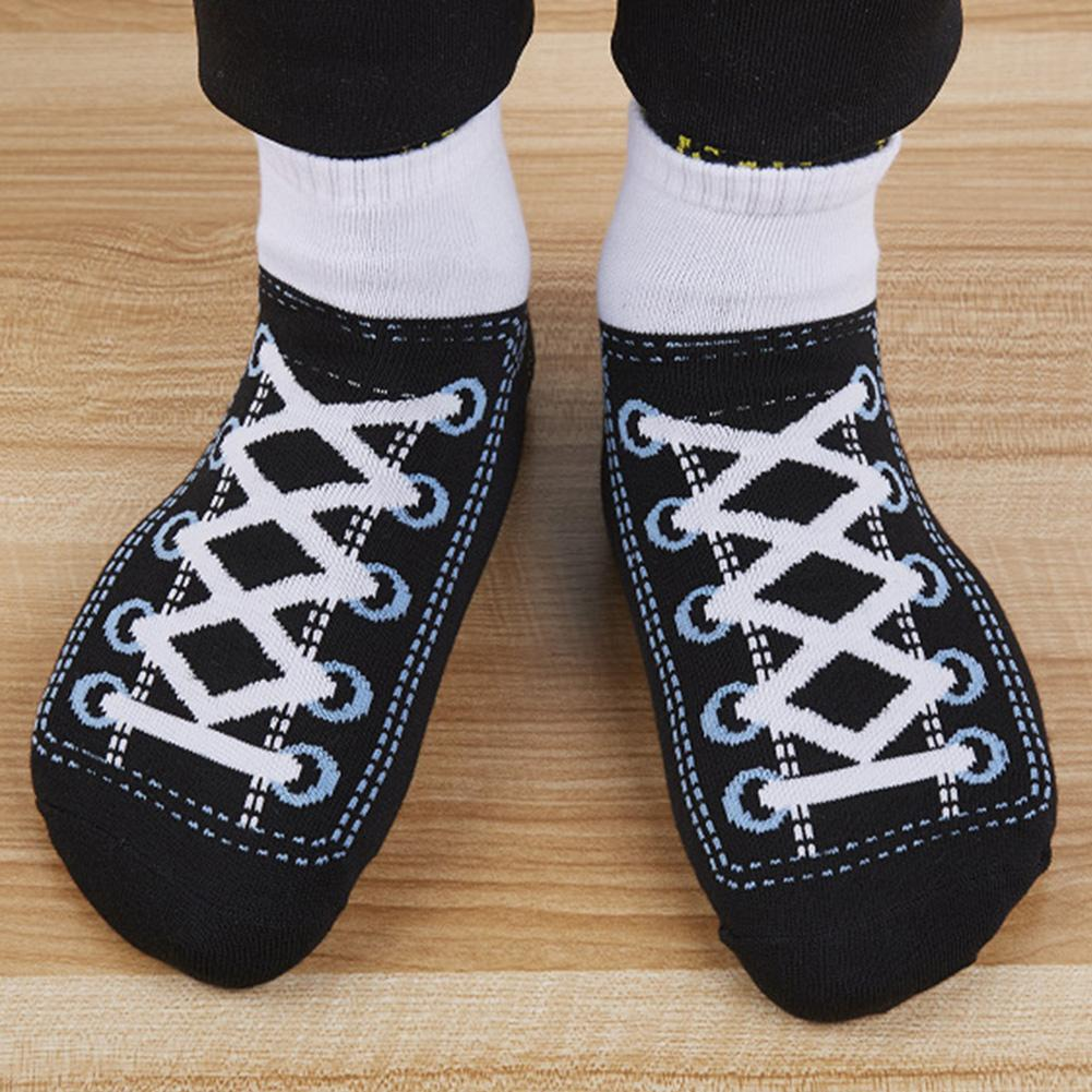 Funny Simulation Sneakers Print Low Cut Men Women Breathable Elastic Ankle Socks hot