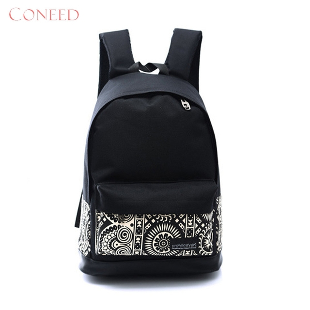 f6d262770f Fashion Backpacks Charming Nice CONEED 1PC Boys Girls Unisex Canvas Rucksack  Backpack School Book Shoulder Bag May4
