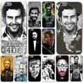 Pablo Escobar Conor Mcgregor Foggy Dew Hard Transparent Case Cover for iPhone 4 4S 5 5S SE 5c 6 6s 7 7 Plus