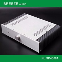 SD4309A / DIY box (430*90*308mm) Full aluminum amplifier chassis / Class A amplifier case / AMP Enclosure / case