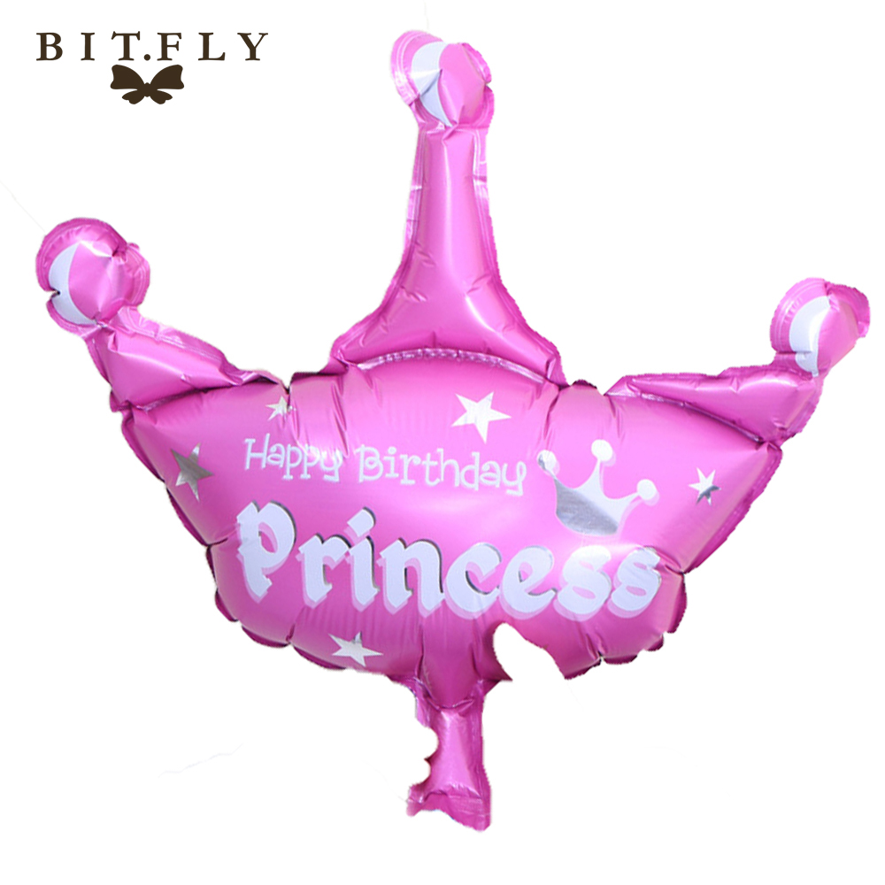 Crown Foil Balloons big classic toys air balloon inflatable helium Balloon happy