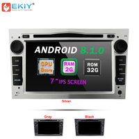 EKIY 2 Din Android 8.1 Car Multimedia Player For OPEL ASTRA Zafira Combo Auto DVD Player Stereo Radio GPS Octa Core 7'' 2G+32G