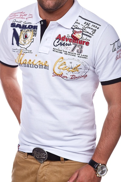 Men Short Sleeve Polo Shirt Casual Shirts Slim Fit Cotton Men's Polo Shirt Hot Sale 25
