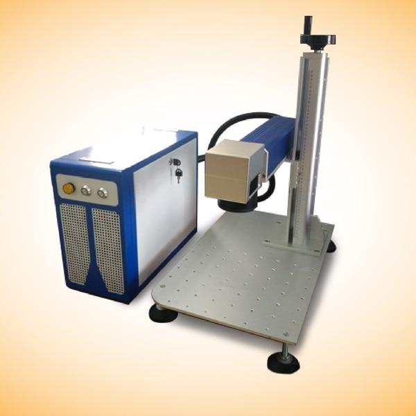 Macchina per incisione laser da tavolo in fibra 30W ad alta potenza, - Attrezzature per la lavorazione del legno - Fotografia 2