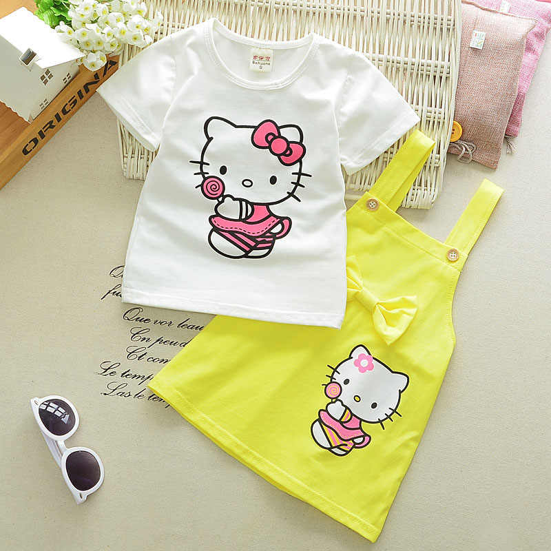 a22a9906e Detail Feedback Questions about Children s clothing set girl Summer ...