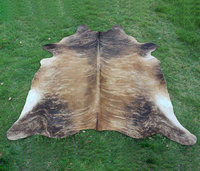 Home decoration Genuine cow Upholstery Cowhides Carpet whole piece