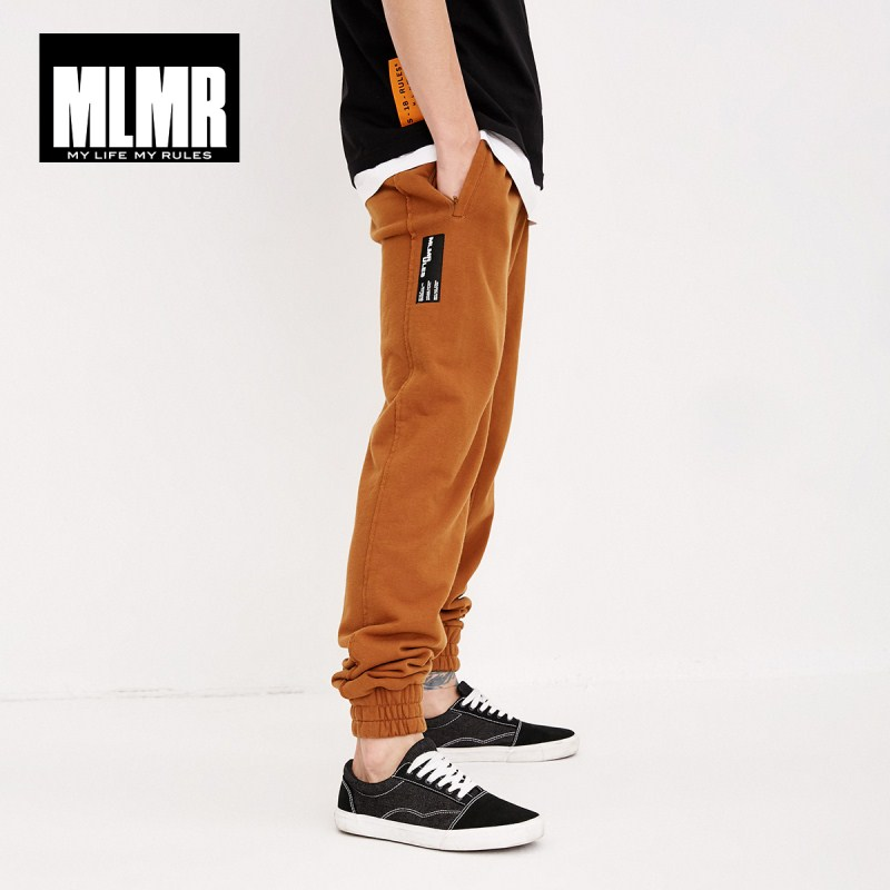 MLMR Men's Drawstring 100% Cotton Jogger Pants JackJones New Brand Menswear 218314517