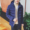 Hot sale 2016 autumn and winter High-quality men's fashion hooded coat plus size code M-3XL 3 colors optional