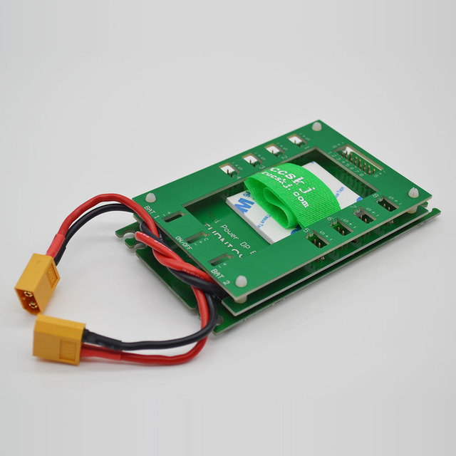 1 Piece Mini Servo Section Board with Dual Power Input Wire and Electronic  Switch Green Color d7f10c764477