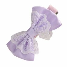 MUQGEW 2019 Adorable Baby Headwear Cute Lace Bowknot Hair Clips Baby Girl Hairpin Child Hair Accessories(China)